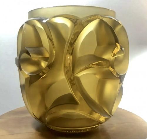 1926 René Lalique Tourbillons Vase - Glass & Crystal Style Art Déco