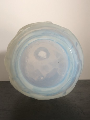 Glass & Crystal  - 1921 Rene Lalique - Ronces Vase in Double Cased Opalescent Glass
