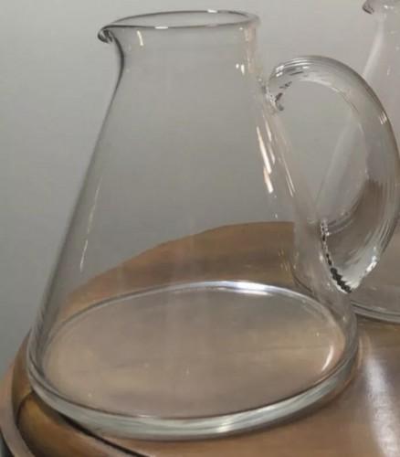 Antiquités - 1937 Rene Lalique Arbois Glasses Set 38 Pieces - 36 Glasses + 2 Decanters