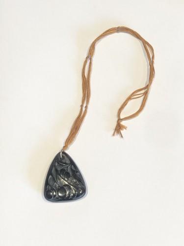 1920 René Lalique - Pendentif Sorbier - Glass & Crystal Style Art Déco