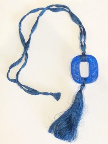 Antique Jewellery  - 1920 René Lalique - Electric Blue Frogs