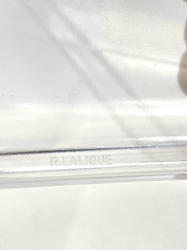 1938 Rene LALIQUE - Plates Set Ermitage -