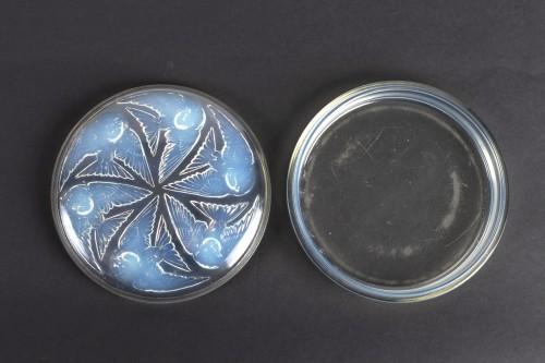 Art Déco - 1921 René Lalique Box Mesanges Opalescent Glass