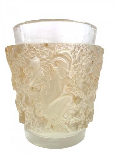 1938 René Lalique - Vase Bacchus