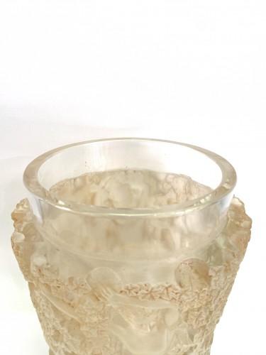 1938 René Lalique - Vase Bacchus - Glass & Crystal Style Art Déco