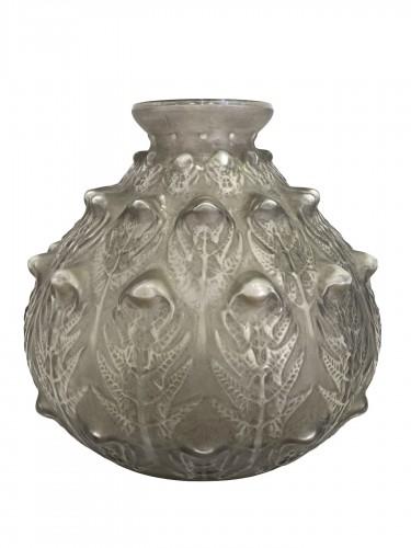 """1912 René Lalique - Vase """"Fougères"""""""