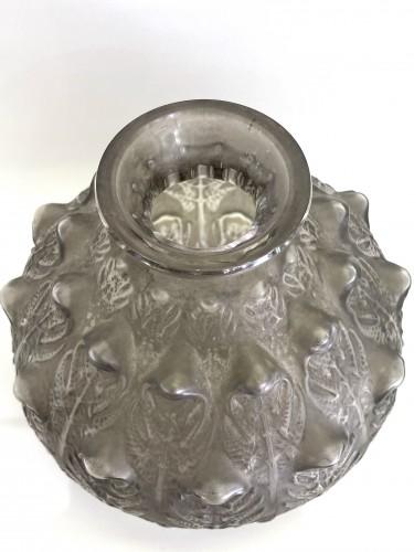"""20th century - 1912 René Lalique - Vase """"Fougères"""""""