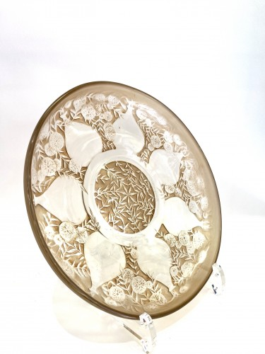 "1921 René Lalique - Set of five plates ""Vases""  -"