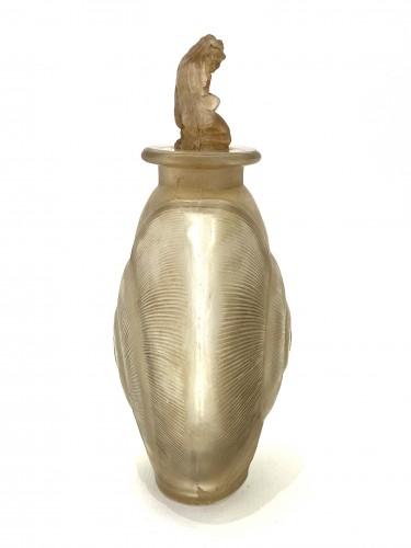 """Glass & Crystal  - 1920 René Lalique - Perfume Bottle """"Amphitrite"""""""