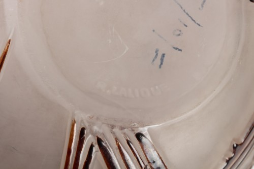 """1924 René Lalique - Vase """"Baies"""" -"""