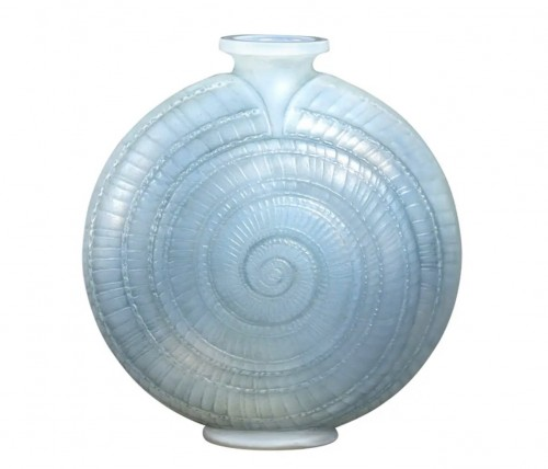 """1920 René Lalique - Vase """"Escargot"""""""
