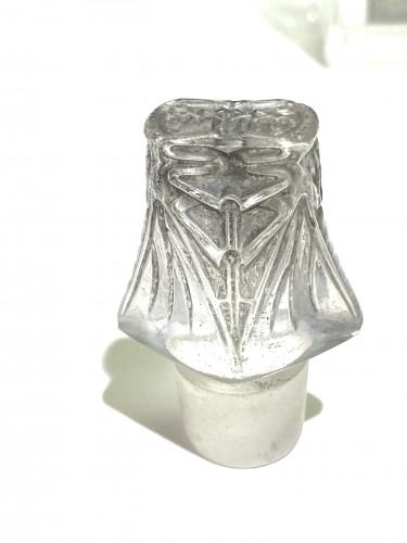 1920 René Lalique - Perfume Bottle « L'Effleurt »  - Glass & Crystal Style Art nouveau