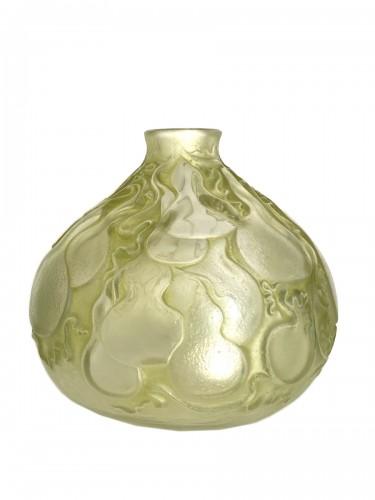 """1914 René Lalique - Vase """"Courges"""""""