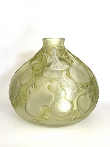 """Glass & Crystal  - 1914 René Lalique - Vase """"Courges"""""""