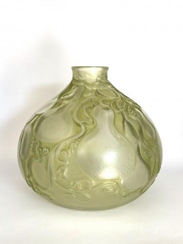 """1914 René Lalique - Vase """"Courges""""  -"""