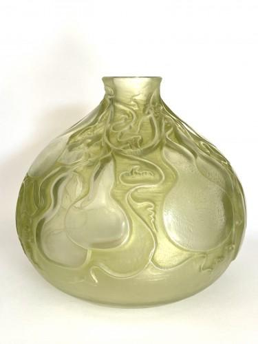 """20th century - 1914 René Lalique - Vase """"Courges"""""""