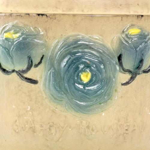 20th century - 1921 Gabriel Argy-rousseau - Renonculus Roses Box