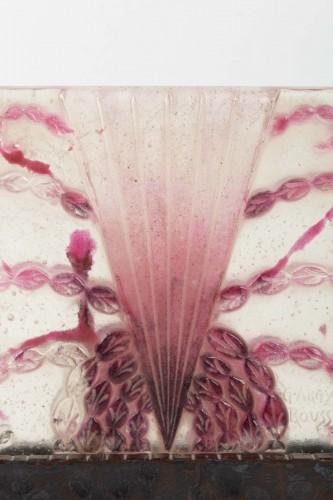 1930 Gabriel Argy-rousseau - Night Lamp Algues Pâte De Verre Cameo Glass -