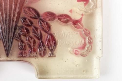 1930 Gabriel Argy-rousseau - Night Lamp Algues Pâte De Verre Cameo Glass - Art Déco