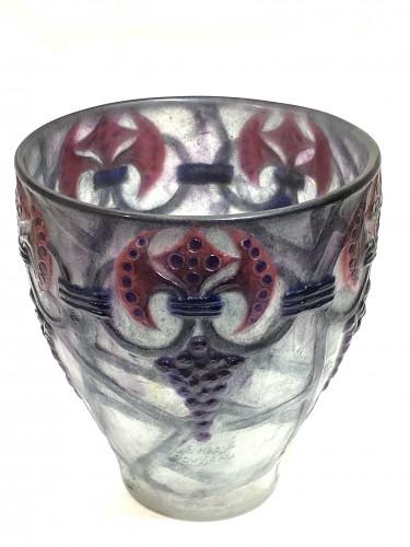 """Glass & Crystal  - 1926 Gabriel Argy-rousseau - Vase """"Branches"""""""