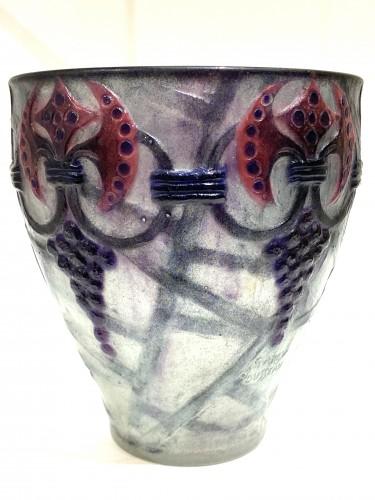 """20th century - 1926 Gabriel Argy-rousseau - Vase """"Branches"""""""