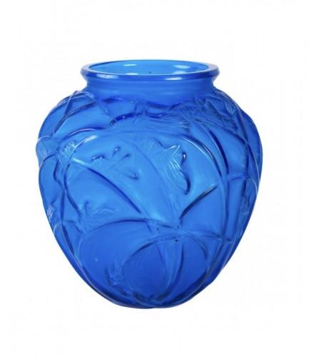 """1912 Rene Lalique - Vase """"Sauterelles"""""""