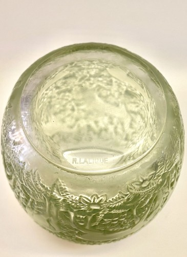 "20th century - 1931 René Lalique -  Vase ""Biches"""