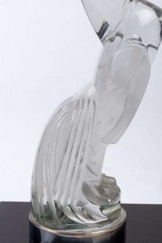 "Antiquités - 1929 Rene Lalique - Mascot Bookend ""Coq Houdan"""