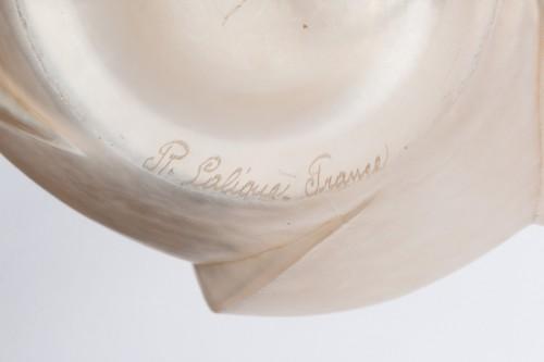 "Art Déco - 1928 René Lalique - Vase ""Périgord"""