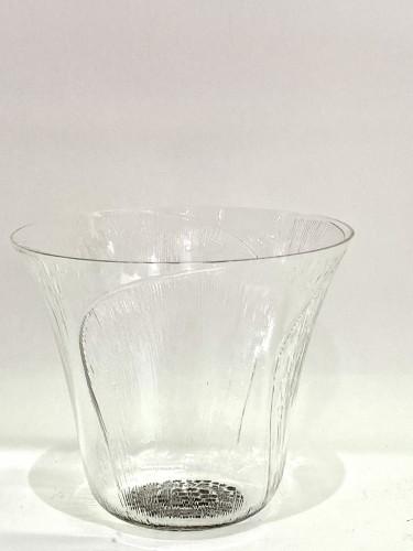 "1922 René Lalique - Set of 12 ""Pavot"" drinking glasses - Glass & Crystal Style Art Déco"