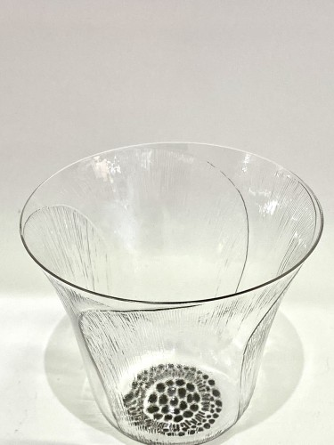 "20th century - 1922 René Lalique - Set of 12 ""Pavot"" drinking glasses"