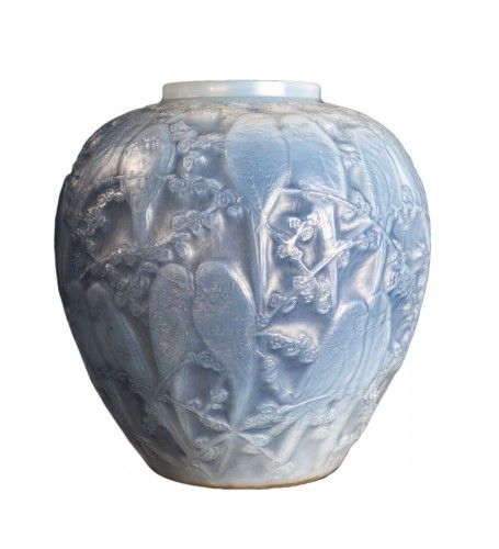1919 René Lalique - Vase Perruches