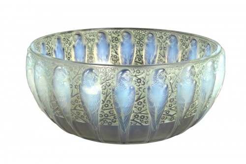 1931 René Lalique - Bowl Perruches