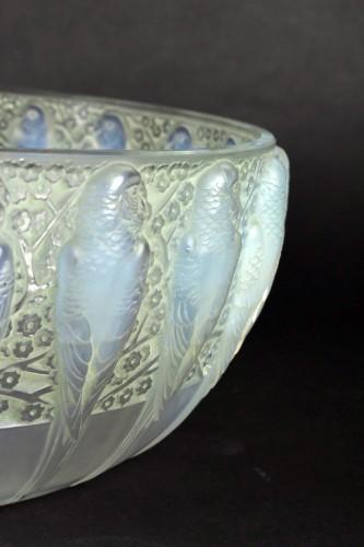 1931 René Lalique - Bowl Perruches  - Art Déco