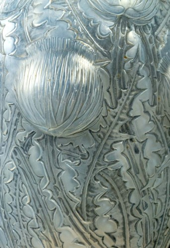 1926 René Lalique - Vase Domrémy - Glass & Crystal Style Art Déco