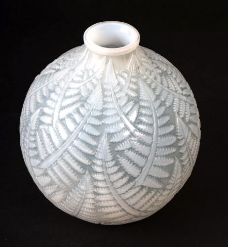 1927 René Lalique - Vase Espalion - Glass & Crystal Style Art Déco