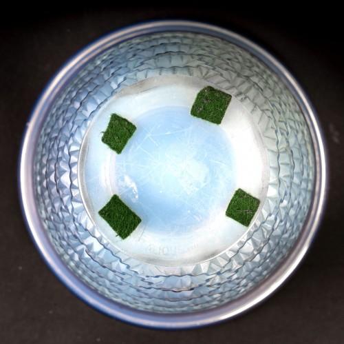 1935 René Lalique - Vase Guirlandes - Glass & Crystal Style Art Déco