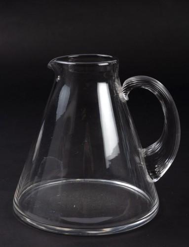 1937 René Lalique Service Arbois - 49 Pieces (48 Glasses - 1 Pitcher) -