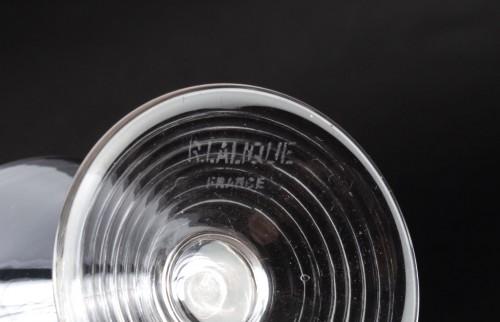 20th century - 1937 René Lalique Service Arbois - 49 Pieces (48 Glasses - 1 Pitcher)