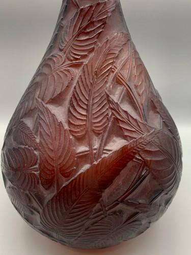 1923 René Lalique - Vase Sauges -