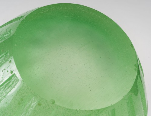 Glass & Crystal  - Daum - Rythmes Vase
