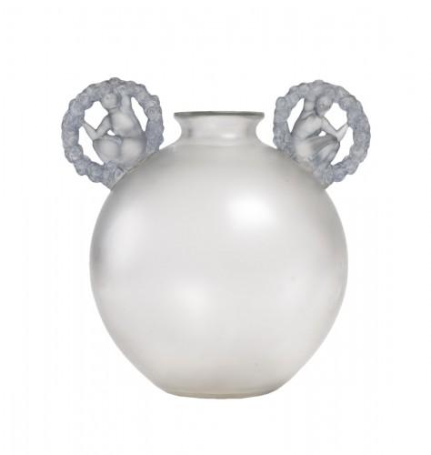 1926 René Lalique - Vase Ronsard