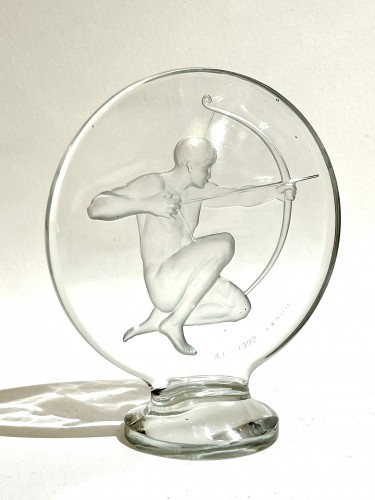 "20th century - 1926 René Lalique - Car Mascot ""Archer"""