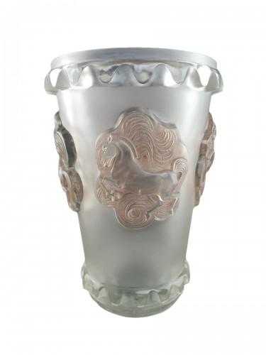 1942 René Lalique - Vase Camargue