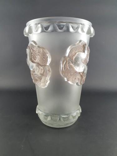 1942 René Lalique - Vase Camargue - Glass & Crystal Style Art Déco