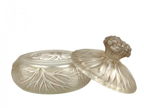 Glass & Crystal  - 1910 René Lalique - Box Cheveux de Vénus