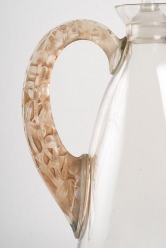 1923 René Lalique - Decanter Prunelles -