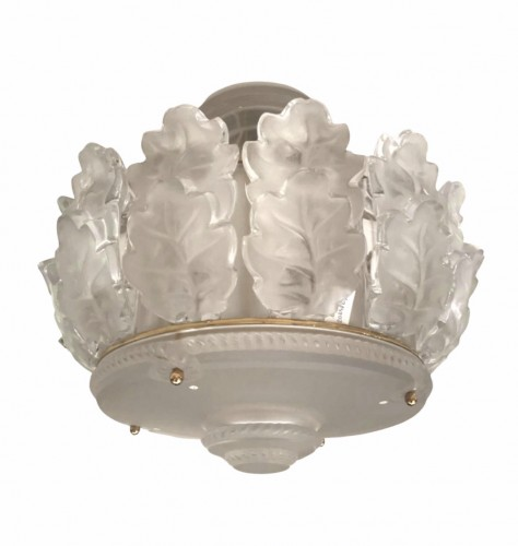 "Ceiling Chandelier ""Chêne"" by Marc Lalique - Lighting Style 50"