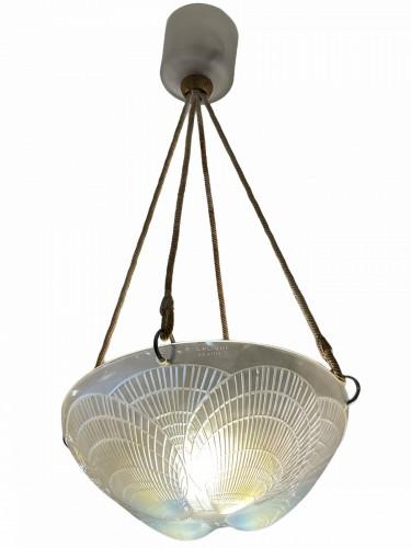1921 René Lalique - Chandelier Coquilles