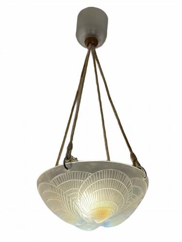 1921 René Lalique - Chandelier Coquilles - Lighting Style Art Déco